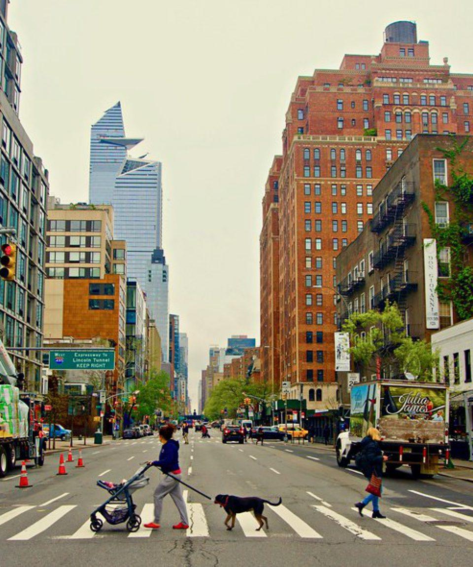 Friday morning  - 10th Avenue, New York City