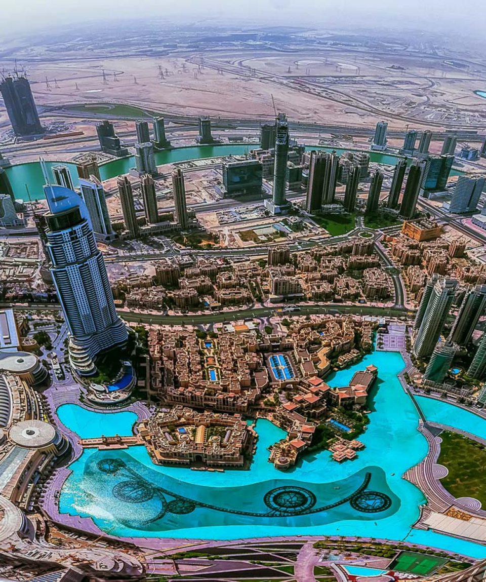 Dubai-United-Arab-Emirates-Burj-Khalifa-top